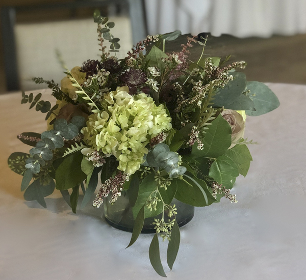 photo of event flowers
